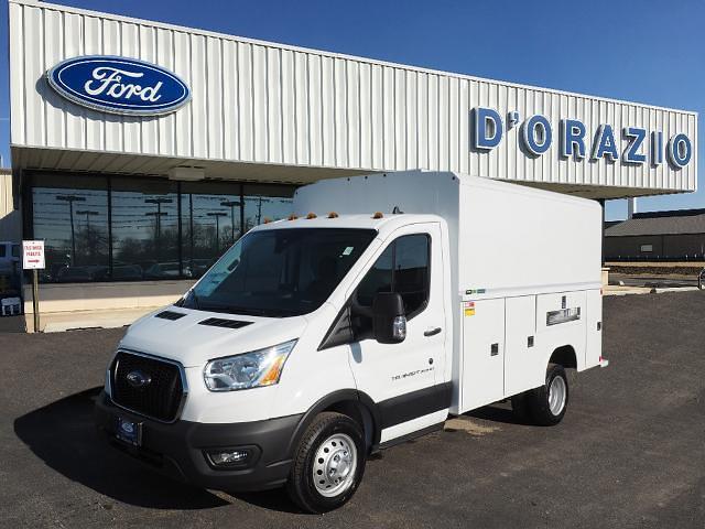 2020 Ford Transit 350 HD DRW 4x2, Reading Service Utility Van #D20403 - photo 1