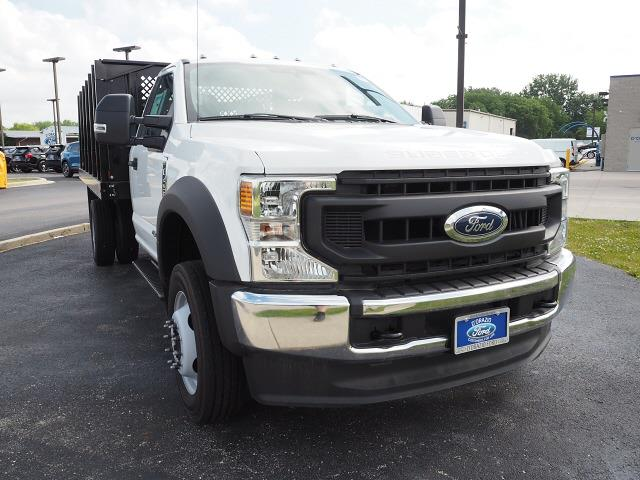 2020 Ford F-450 Regular Cab DRW 4x2, Monroe Stake Bed #D20423 - photo 1