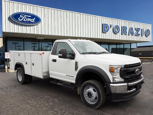 2020 Ford F-450 Regular Cab DRW 4x4, Monroe Service Body #D20500 - photo 1