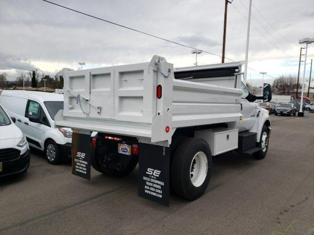 2019 F-650 Regular Cab DRW 4x2, Scelzi Dump Body #E195741 - photo 2