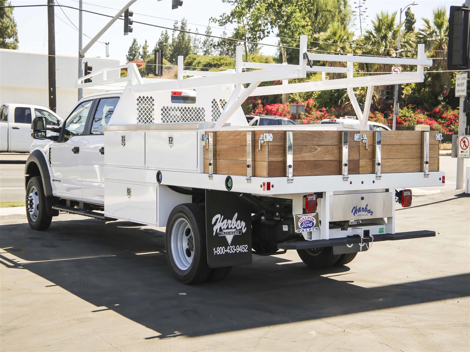 2020 Ford F-450 Crew Cab DRW RWD, Harbor Contractor Body #E202603 - photo 1