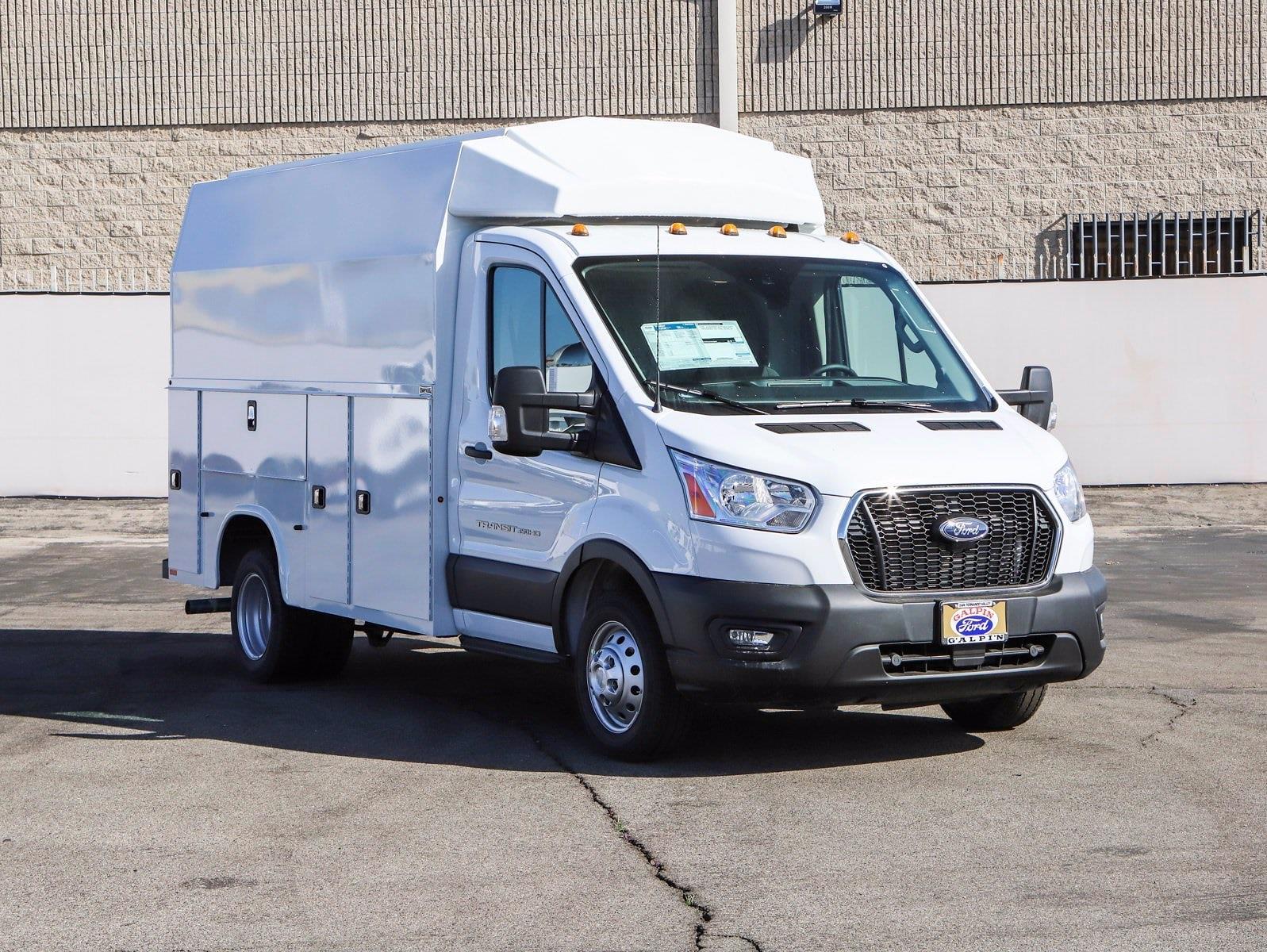 2020 Ford Transit 350 HD DRW 4x2, Knapheide Service Utility Van #E206324 - photo 1