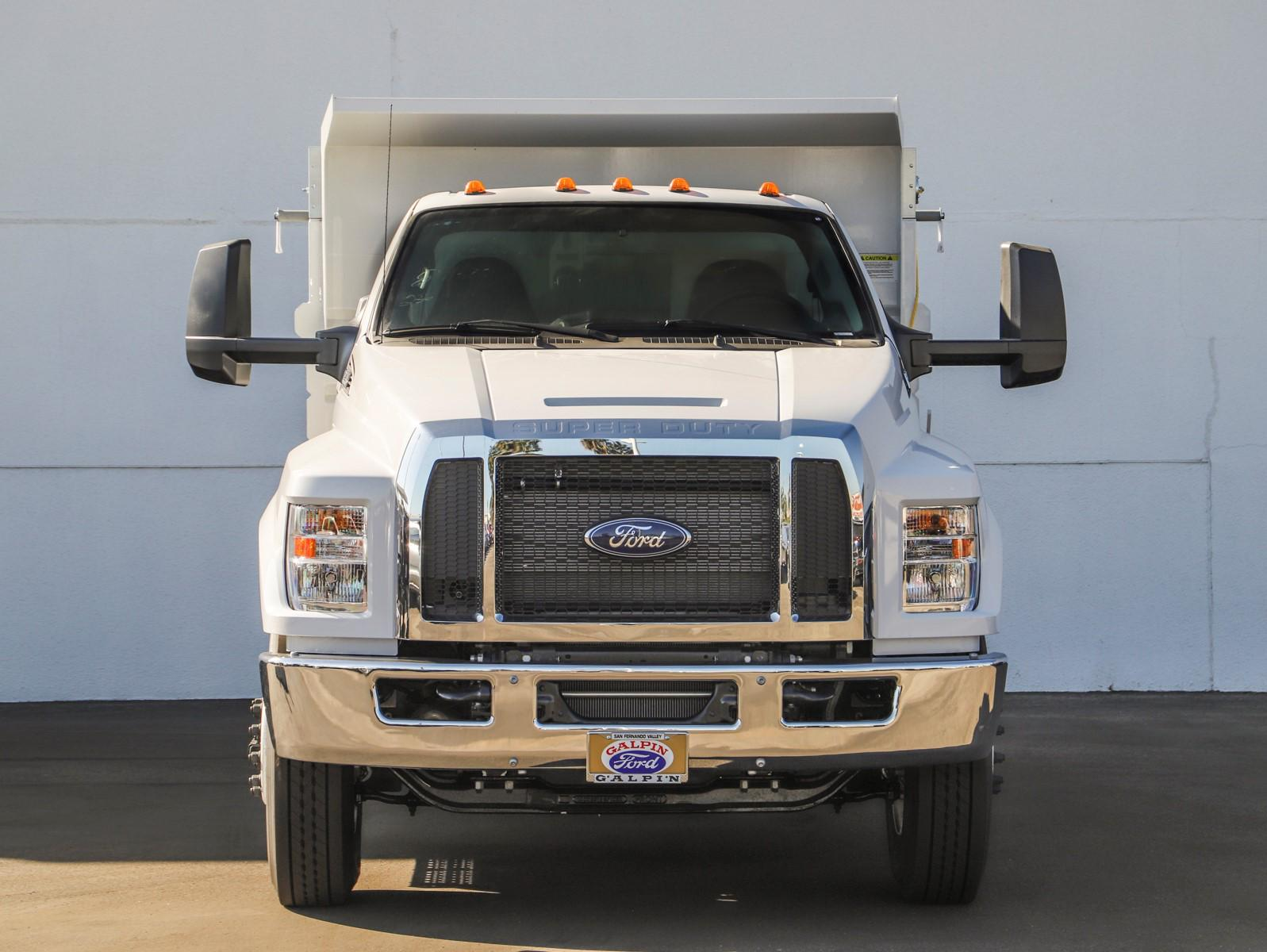 2021 Ford F-650 Regular Cab DRW 4x2, Scelzi Dump Body #E210034 - photo 3