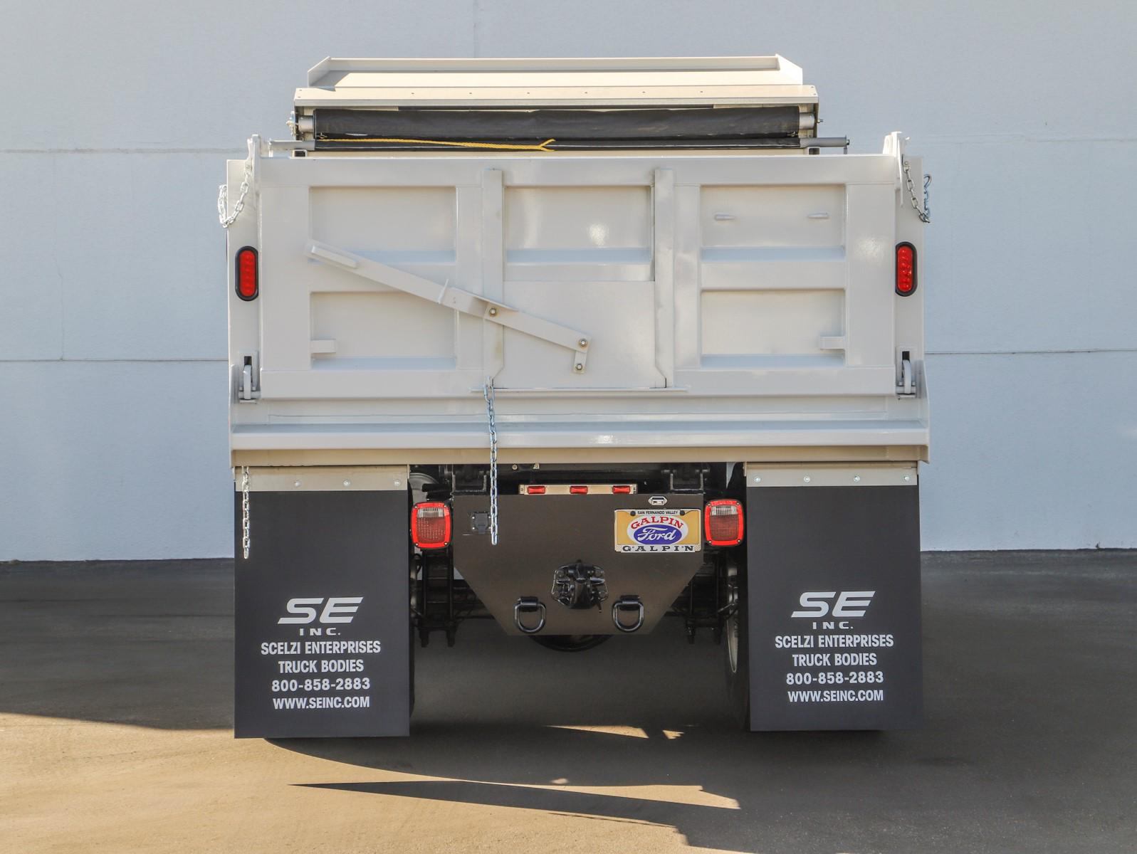 2021 Ford F-650 Regular Cab DRW 4x2, Scelzi Dump Body #E210034 - photo 4