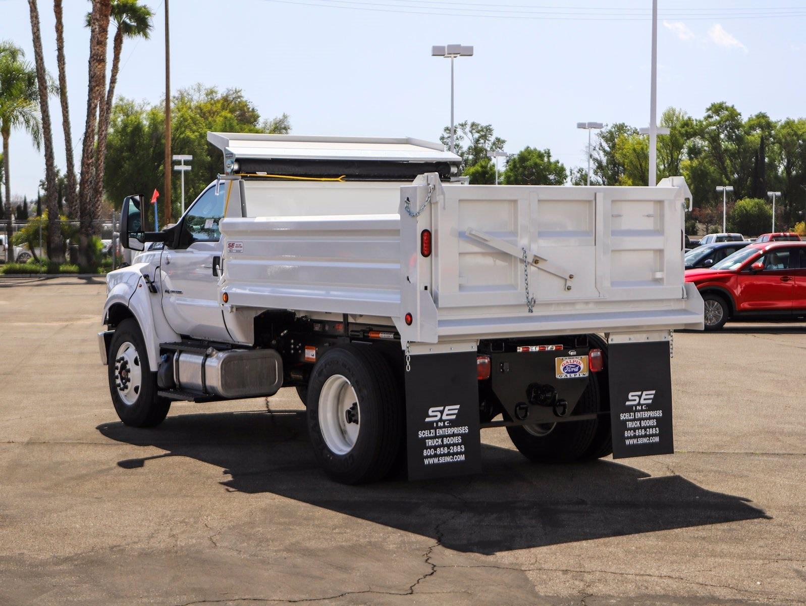 2021 Ford F-650 Regular Cab DRW 4x2, Scelzi Dump Body #E211037 - photo 1