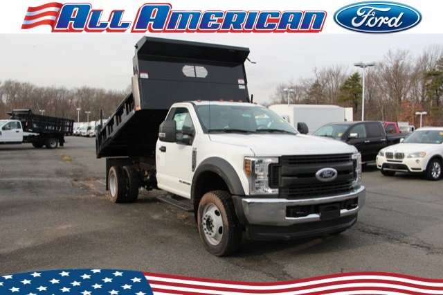 2019 Ford F-550 Regular Cab DRW 4x4, Rugby Dump Body #193002 - photo 1