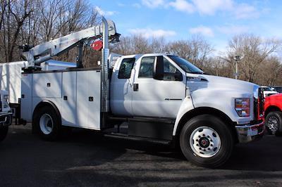 2021 Ford Open Service Utility 11 FT Crane Super Cab F750 #211111 - photo 2