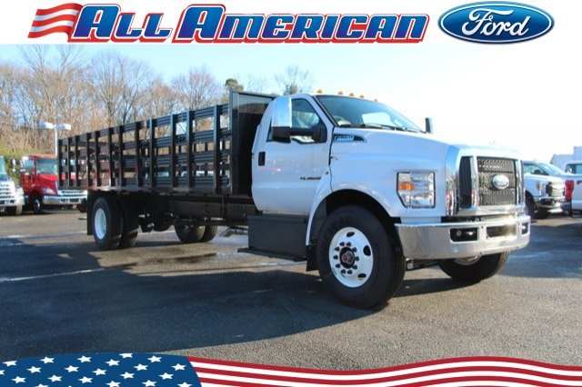 2019 Ford F-750 Regular Cab DRW 4x2, South Jersey Truck Bodies Stake Bed #19PT2294 - photo 1