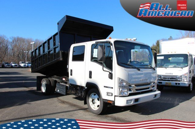 2020 Isuzu NQR Crew Cab 4x2, South Jersey Truck Bodies Landscape Dump #2003 - photo 1