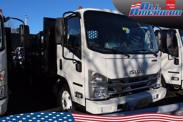 2020 Isuzu NPR-HD Regular Cab FWD, Stake Bed #2029 - photo 1