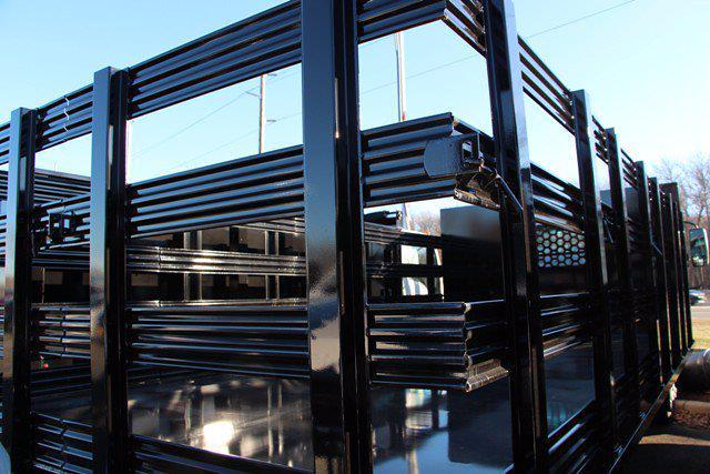 2020 Isuzu Rack Truck Isuzu NPR 16FT Steel Platform Body #2029 - photo 5