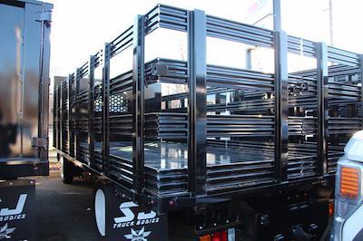 2020 Isuzu Rack Truck Isuzu NPR 16FT Steel Platform Body #2029 - photo 4