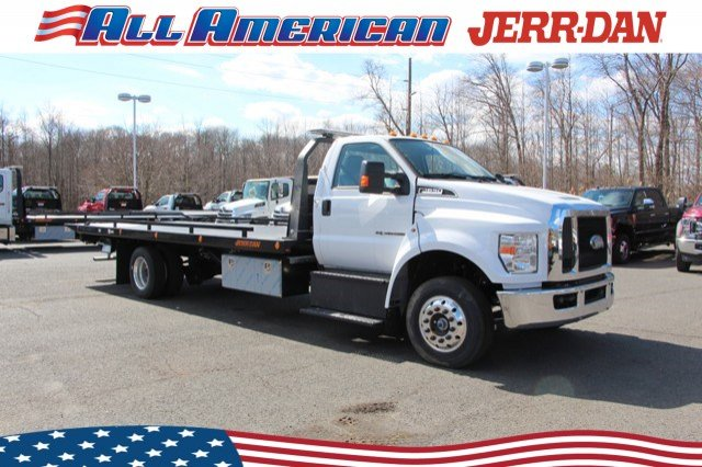 2019 Ford F-650 Regular Cab DRW 4x2, Jerr-Dan Rollback Body #19J111 - photo 1