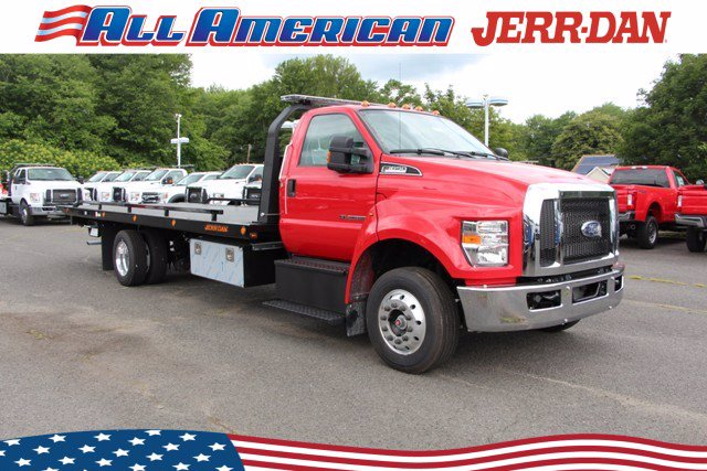 2021 Ford F-650 Regular Cab DRW 4x2, Jerr-Dan Rollback Body #21J009 - photo 1