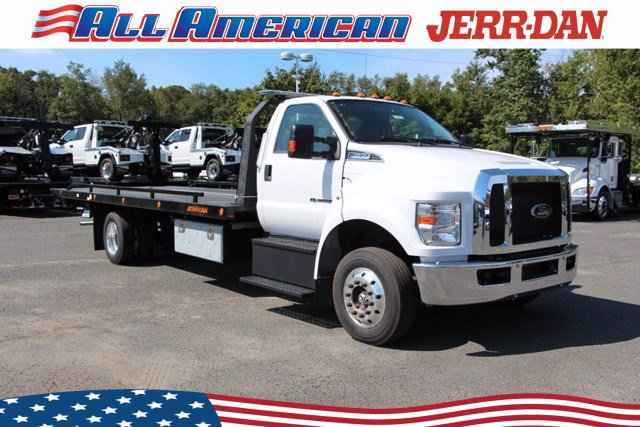 2021 Ford F-650 Regular Cab DRW 4x2, Jerr-Dan Rollback Body #21J023 - photo 1