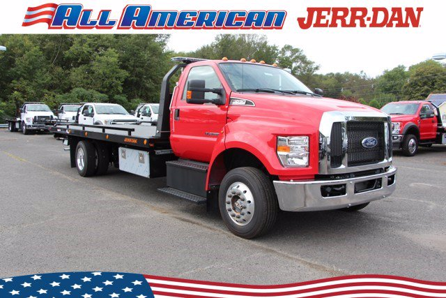 2021 Ford F-650 Regular Cab DRW 4x2, Jerr-Dan Rollback Body #21J025 - photo 1