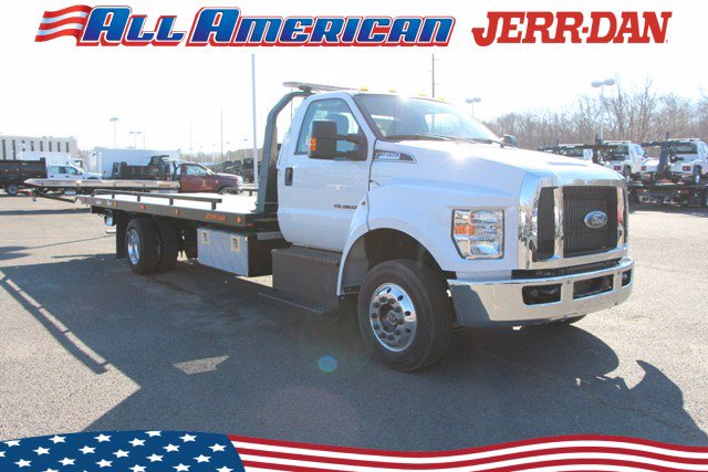 2021 Ford F-650 Regular Cab DRW 4x2, Jerr-Dan Rollback Body #21J041 - photo 1