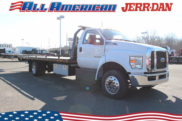 2021 Ford F-650 Regular Cab DRW 4x2, Jerr-Dan Rollback Body #21J042 - photo 1