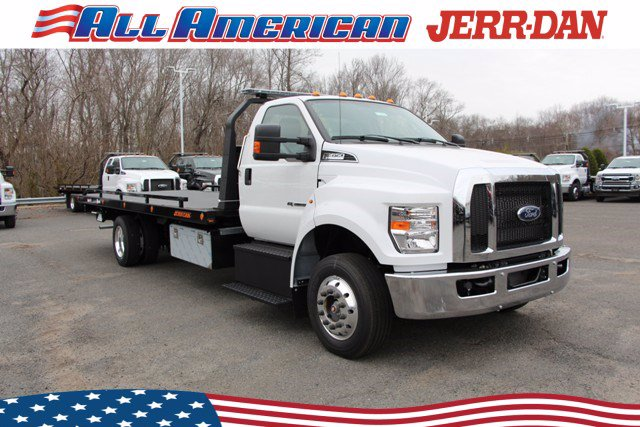 2021 Ford F-650 Regular Cab DRW 4x2, Jerr-Dan Rollback Body #21J052 - photo 1
