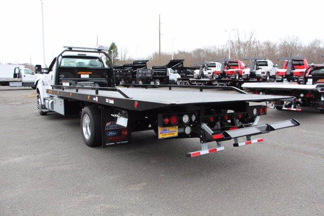 2021 Ford F-650 Regular Cab DRW 4x2, Jerr-Dan Standard Duty Carriers Rollback Body #21J052 - photo 13