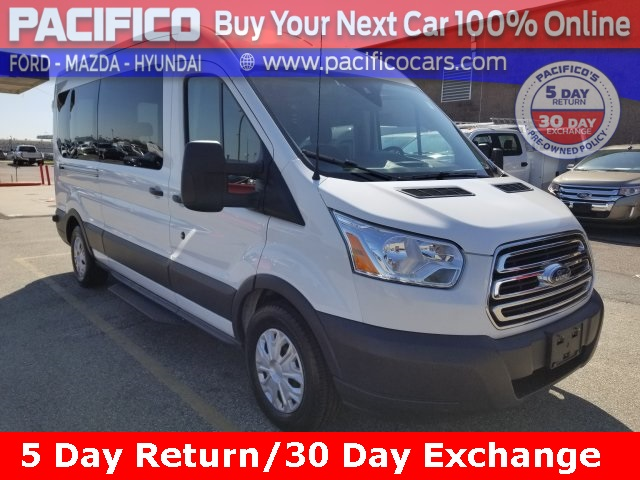 2017 Transit 350 Med Roof 4x2, Passenger Wagon #FO40417 - photo 1