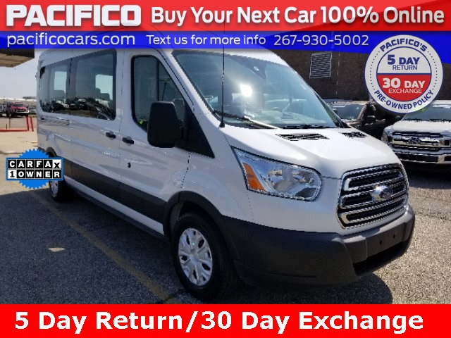 2019 Transit 350 Med Roof 4x2, Passenger Wagon #FO40419P - photo 1