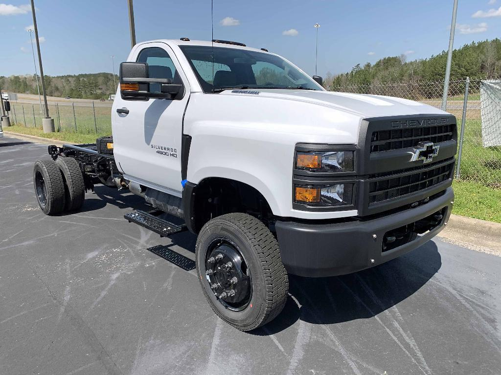 2021 Chevrolet Silverado 4500 Regular Cab DRW 4x4, Cab Chassis #F0201 - photo 1