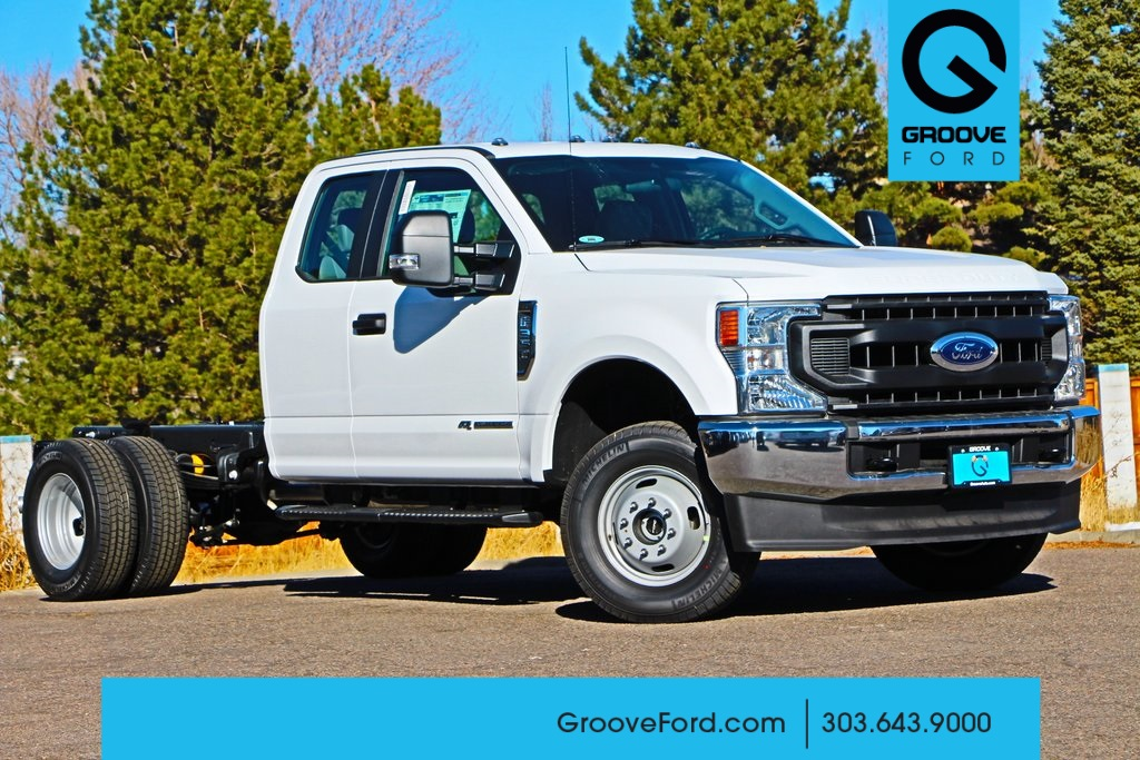 2020 Ford F-350 Super Cab DRW 4x4, Cab Chassis #FF109507 - photo 1