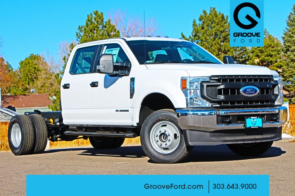 2020 Ford F-350 Crew Cab DRW 4x4, Cab Chassis #FF109509 - photo 1