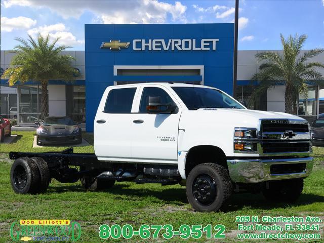 2020 Chevrolet Silverado Medium Duty Crew Cab DRW 4x4, Cab Chassis #L1334 - photo 1