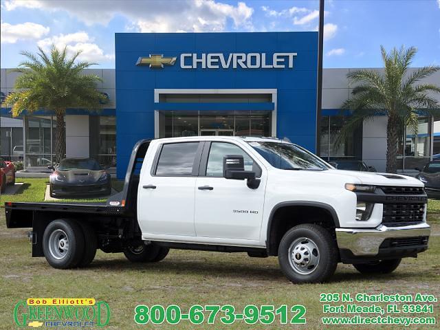 2021 Chevrolet Silverado 3500 Crew Cab 4x4, Platform Body #M1167 - photo 1