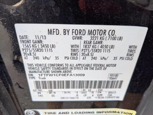2014 F-150 SuperCrew Cab 4x2,  Pickup #EFA13009 - photo 16