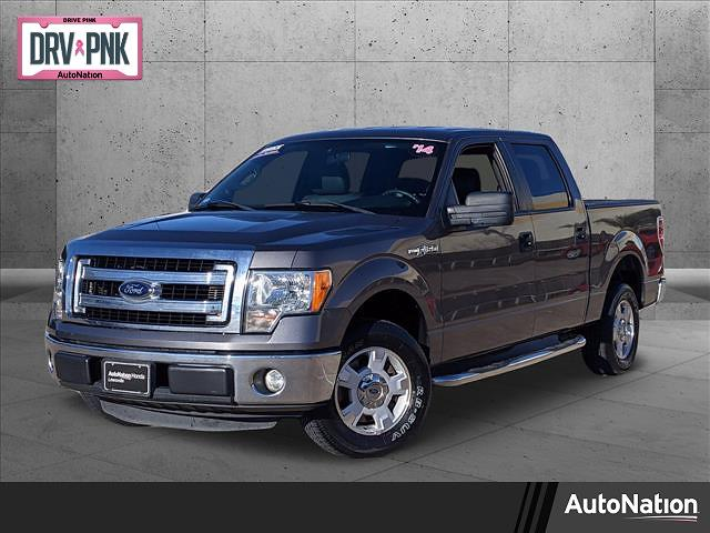 2014 Ford F-150 SuperCrew Cab 4x2, Pickup #EKF04037 - photo 1