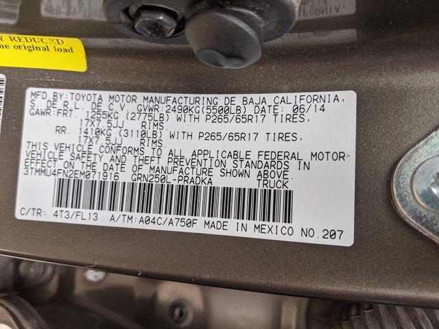 2014 Toyota Tacoma Double Cab 4x4, Pickup #EM071916 - photo 24