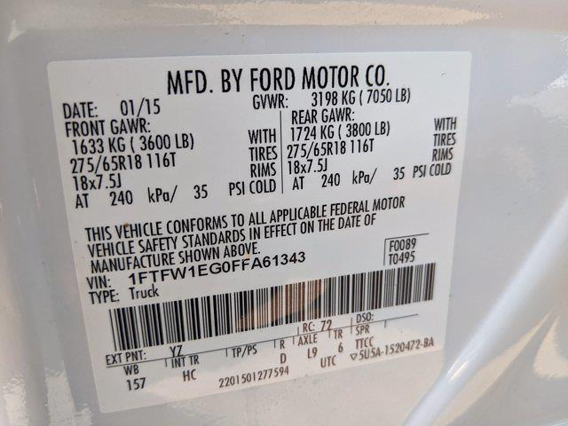 2015 Ford F-150 SuperCrew Cab 4x4, Pickup #FFA61343 - photo 25
