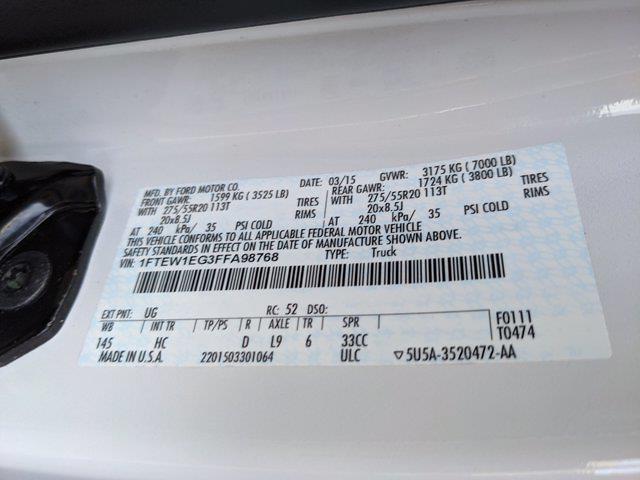 2015 F-150 SuperCrew Cab 4x4,  Pickup #FFA98768 - photo 21