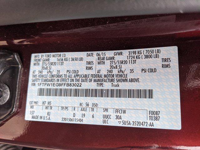 2015 Ford F-150 SuperCrew Cab 4x4, Pickup #FFB83022 - photo 21