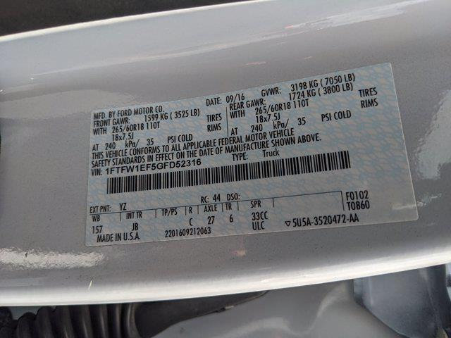 2016 F-150 SuperCrew Cab 4x4,  Pickup #GFD52316 - photo 25