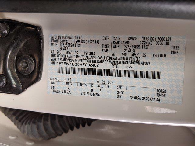 2017 Ford F-150 SuperCrew Cab 4x4, Pickup #HFC02402 - photo 23