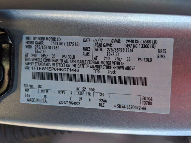 2017 Ford F-150 SuperCrew Cab 4x4, Pickup #HKC71446 - photo 21