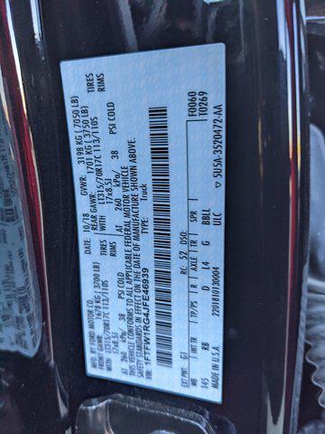 2018 Ford F-150 SuperCrew Cab 4x4, Pickup #JFE46939 - photo 19