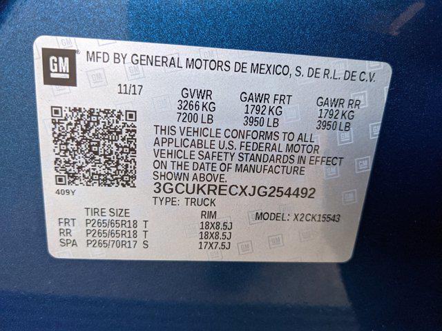 2018 Chevrolet Silverado 1500 Crew Cab 4x4, Pickup #JG254492 - photo 20
