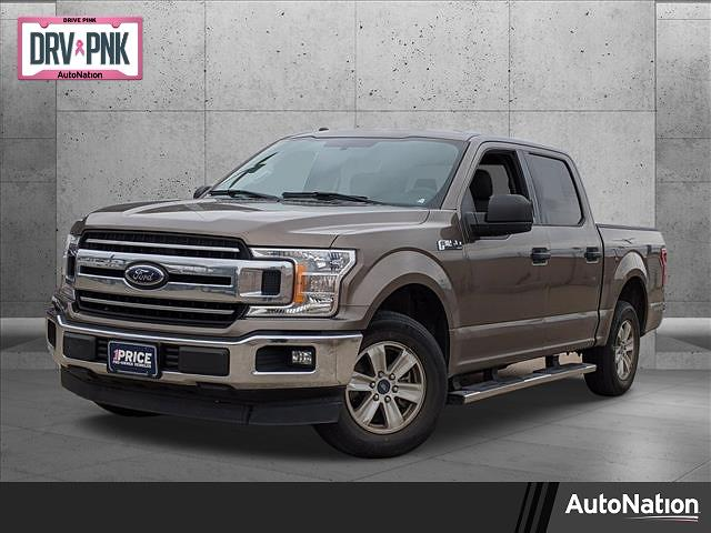 2018 Ford F-150 SuperCrew Cab 4x2, Pickup #JKC79614 - photo 1
