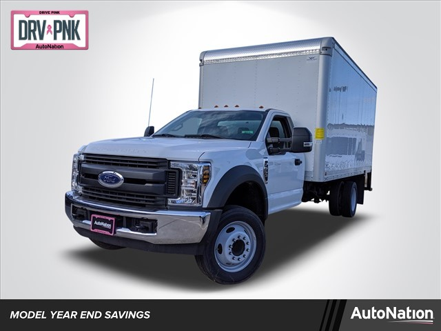 2019 Ford F-550 Regular Cab DRW 4x2, Smyrna Truck Dry Freight #KDA27337 - photo 1