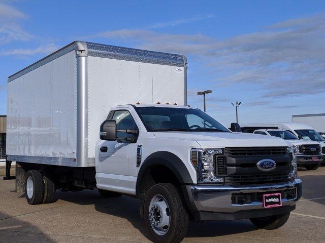 2019 F-550 Regular Cab DRW 4x2, Smyrna Truck Aluminum Dry Freight #KDA27337 - photo 8