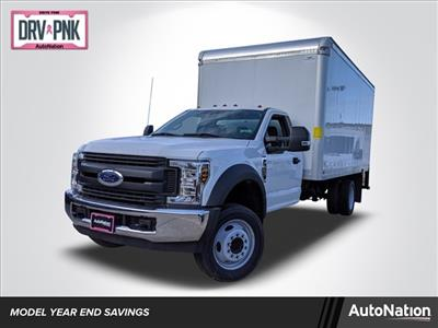 2019 F-550 Regular Cab DRW 4x2, Smyrna Truck Aluminum Dry Freight #KDA27337 - photo 1