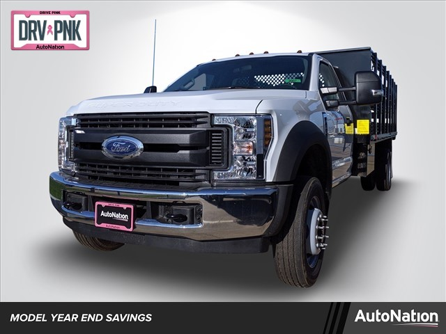 2019 F-550 Regular Cab DRW 4x2, Smyrna Truck Stake Bed #KDA27338 - photo 1