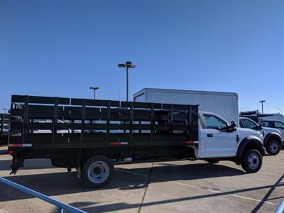 2019 F-550 Regular Cab DRW 4x2, Smyrna Truck Stake Bed #KDA27338 - photo 7