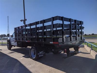 2019 F-550 Regular Cab DRW 4x2, Smyrna Truck Stake Bed #KDA27338 - photo 2