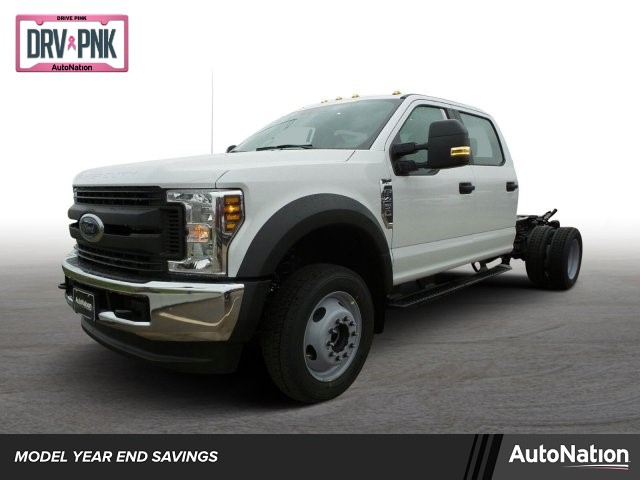 2019 F-450 Crew Cab DRW 4x4, Knapheide Platform Body #KED24897 - photo 1